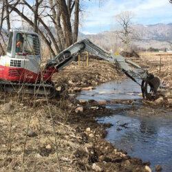 Left Hand Creek  Construction Phase